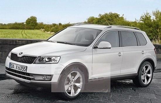 将上市新合资SUV 斯柯达全新SUV高清图片
