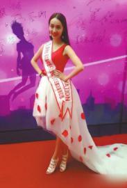 2014国际联合国小姐选美大赛,四川仁寿人刘佳瑜夺冠