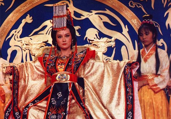 古装女皇手绘图片